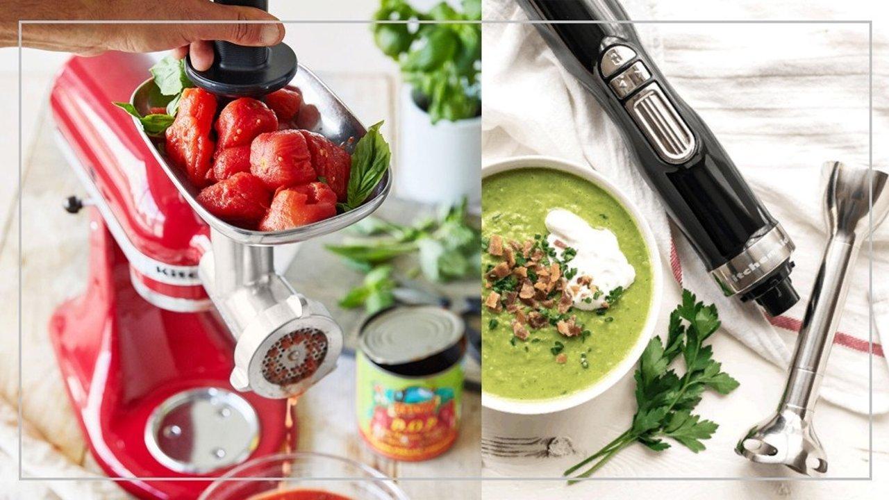 KitchenAid   一个梦想中的厨房需要哪些电器加持?