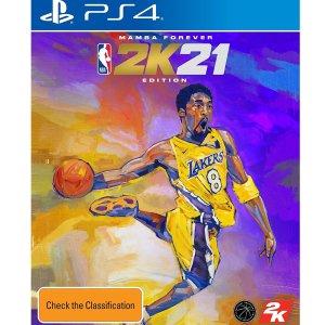$129起 9月4日发售预购:《NBA 2K21:曼巴永恒版》 PS4/XBOX/PC