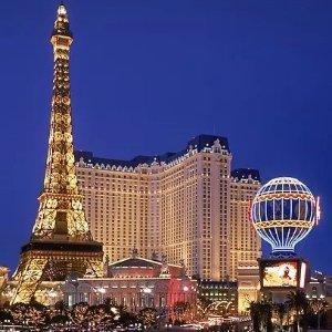 $59/起 预定2晚以上赠 $40 泳池消费拉斯维加斯巴黎酒店