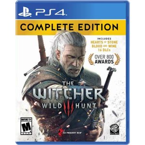 The Witcher III: Wild Hunt Complete Edition PS4