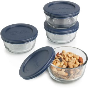 $6.96Anchor Hocking 玻璃食物保鲜碗 1 Cup容量 4个