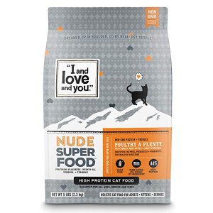 I and love and you Dry Cat Food