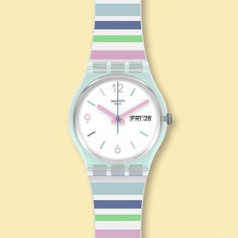 低至5折 €39收学院风腕表Swatch 手表专场大促 好看不过百 谁戴谁好看 开学季礼物首pick