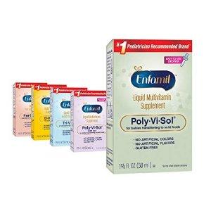 低至$7.58Enfamil 婴幼儿维生素补充剂50毫升,三款可选