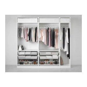 Ikea PAX Wardrobe - 98 3/8x22 7/8x93 1/8