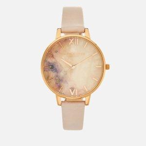 低至5折 €28收新款彩虹耳钉Olivia Burton 仙女系小众腕表 精致英伦风 表盘里有星河