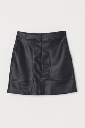 A-line Skirt - Black - Ladies   H&M US
