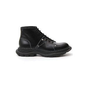 Alexander McQueen新款机车靴