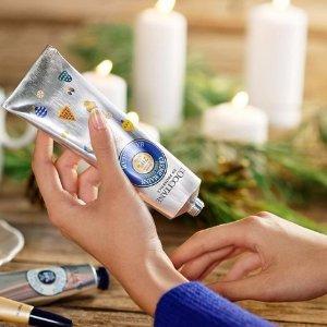 买1送1+免邮L'Occitane 欧舒丹乳木果油护手霜赠好礼 还你细致嫩滑双手