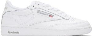 Reebok Classics: White Club C 85 Sneakers | SSENSE
