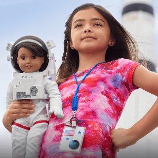 认识一下 NASA娃娃 Luciana VegaAmerican Girl 美国娃娃 2018年度新品,鼓励女孩爱上STEM