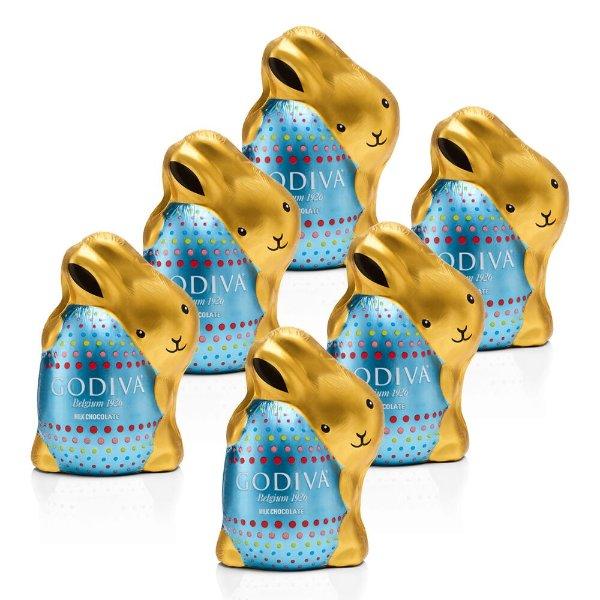 巧克力宾尼兔6件套