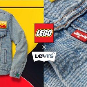 拼手速!€29.95即收短袖T恤上新:Levi's X Lego 联名服饰抢鲜热卖 鬼马童趣的撞色艺术
