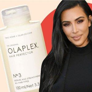 无门槛8折 稻草毛救星OLAPLEX 好莱坞明星最爱沙龙洗护发品牌 罕见降价不容错过