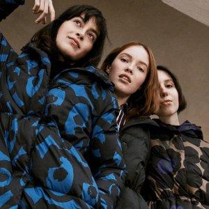 立减$75  芬兰国宝级品牌最后一天:Marimekko 哥伦布日外套优惠