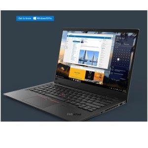 最高直降$1574 3款配置Lenovo 联想官网 ThinkPad X1 Carbon Gen 6