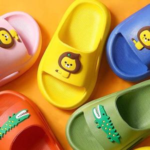 FINLEOO 超可爱儿童厚底软拖鞋,多色可选