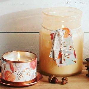 $7起illume 文艺貌美香薰蜡烛,低至3.3折