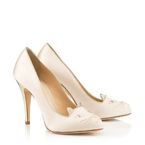 Charlotte Olympia Designer Pumps - Women's Shoes | Charlotte Olympia - KITTY 110