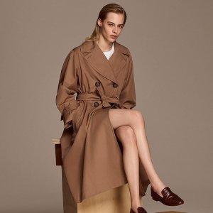 1.8折起 €112收高级感连衣裙S Max Mara 高性价比副线闪促 好价收羊毛大衣