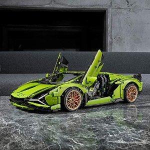 Lego兰博基尼 Sian FKP 37