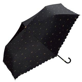 2把直邮美国到手价$36.6W.P.C 防晒防紫外线轻量折叠遮阳伞 黑色蝴蝶结款 新低价
