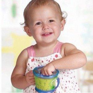 $5.09(原价$11)Munchkin 麦肯奇宝宝零食碗两个装