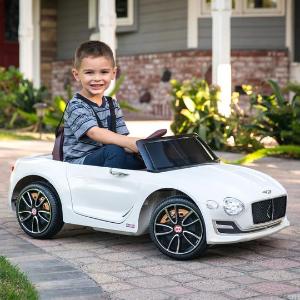 $139.99+包邮 原价$299.99宾利复刻版12V 儿童电动车优惠,2档速可调,家长可遥控