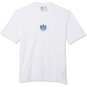 XS码 $14.69 (原价$38)adidas Originals 三叶草logo全棉短袖特卖 男女都能穿