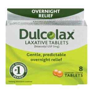 Dulcolax Laxative, 8 ct