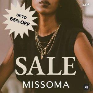低至3.5折 收硬币项链折扣升级:Missoma 年终大促 时尚博主最爱的饰品 优雅又复古