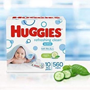 As low as $9.01Amazon Huggies Baby Wipes