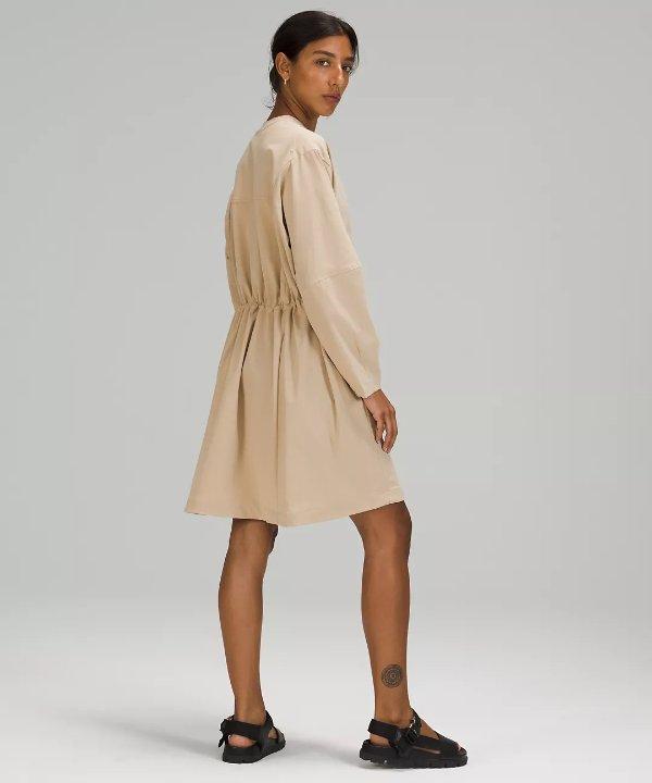 Ventlight™ Button Front 长裙