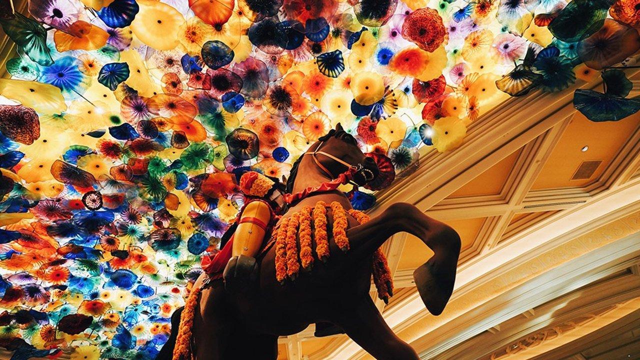美国拉斯维加斯Bellagio百乐宫酒店:入住分享+米其林二星餐厅+自助餐攻略