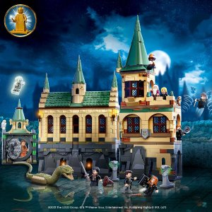 Lego已可预订,6/1上市霍格沃茨密室 76389 | 哈利波特