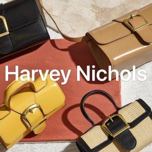 低至4折+正价最高享8折Harvey Nichols 私密大促 ByFar仅$200、YSL气垫$51、TF口红套装