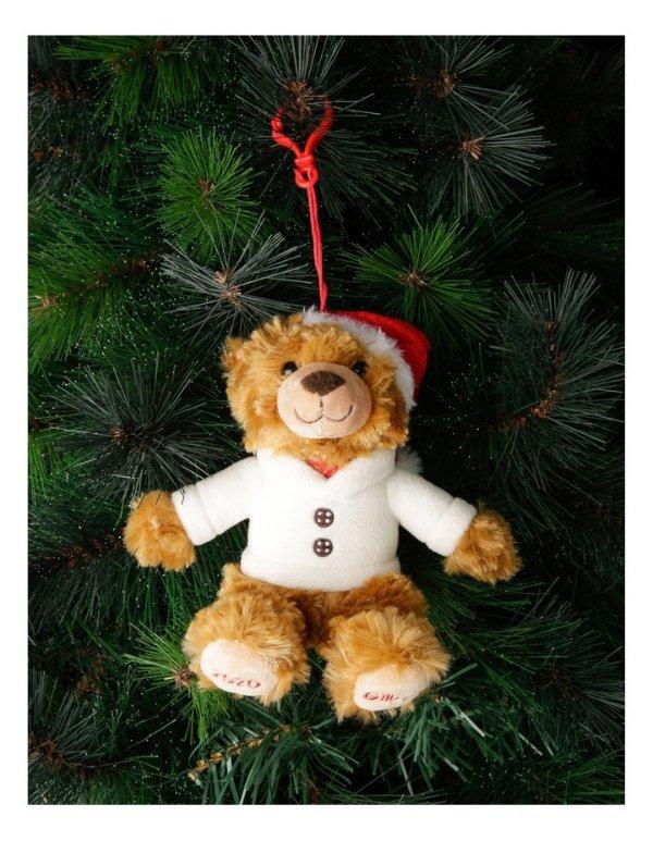 圣诞装饰小熊