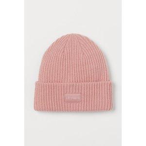 H&MAcne平替毛线帽