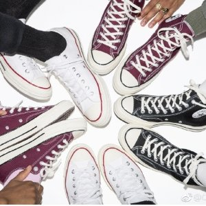 最高立减£50 变相66折 £33收经典款Converse 万年经典帆布鞋满额减 简约百搭风走起