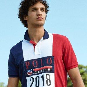 低至6折+额外75折Polo Ralph Lauren 精选男、女装热卖 收经典Polo衫