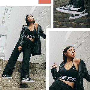 折扣区5折起+额外7.5折Nike官网 运动内衣&leggings折上折 瑜伽、运动必备装备