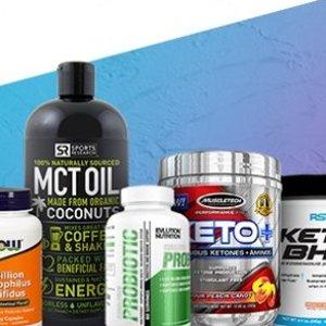 低至8折Bodybuilding精选Keto生酮、胶原蛋白、促消化益生菌等限时特卖