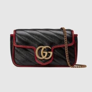 封面款少量上架 你就要跟别人有点不一样Gucci GG Marmont 全新配色不撞包 一枝独秀有点特别