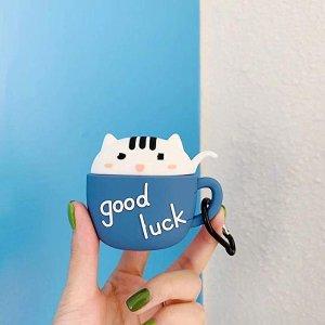 小猫咖啡杯造型保护壳