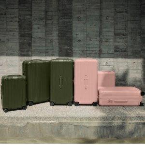 收当下最顶级的旅行箱RIMOWA 推出全新Desert Rose及Cactus配色 旅行箱+手机壳