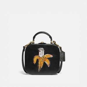 CoachX Jean-Michel Basquiat 单肩包
