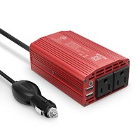 BESTEK 300W 电源逆变器 2个USB接口+2个标准插座