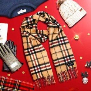 全线7折!仅€22起收格纹围巾Gretna Green 苏格兰羊绒围巾 Acne平替 冬季必备保暖好物