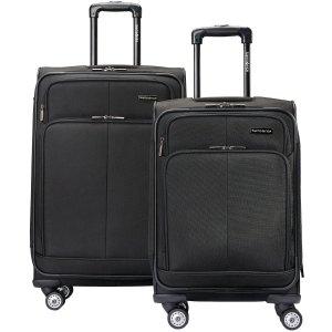 $89.98Samsonite 新秀丽万向轮行李箱2件套,25寸+20寸