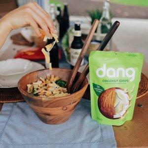 近期好价$3.54+包邮Dang 原味椰子脆片 3.17oz装,焦糖、少盐款补货